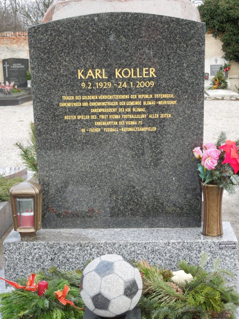 Koller Karl Ehrengrab Blumau