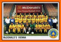 Panini Mc Donald's Viena 1991 92 double sticker