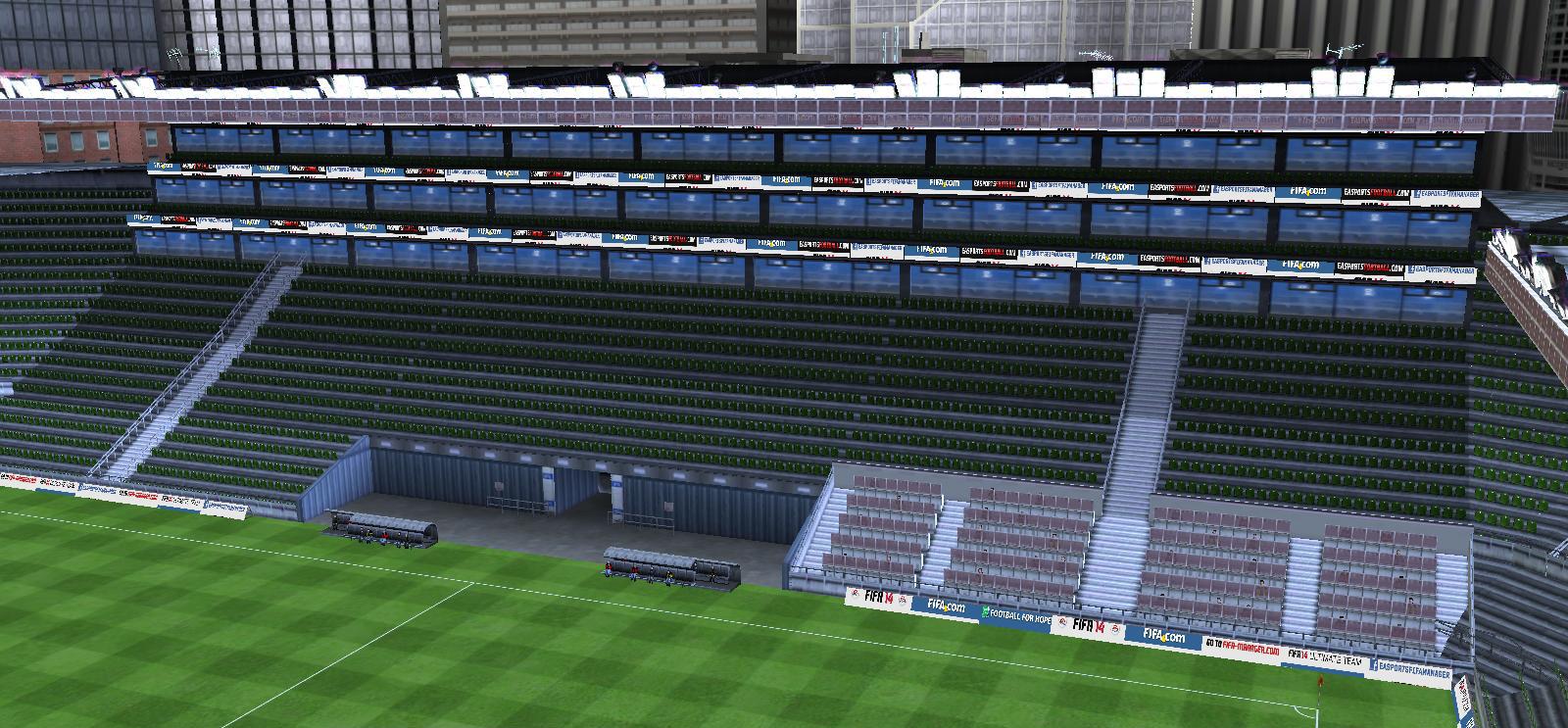 Weststadion Haupttribüne