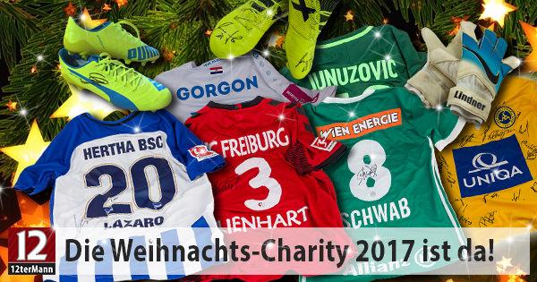 Die 12terMann Weihnachts-Charity zugunsten SOS-Kinderdorf