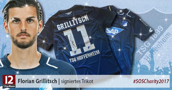 Signiertes Trikot vonFlorian Grillitsch(TSG Hoffenheim)