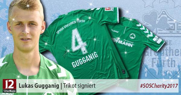 Signiertes Trikot vonLukas Gugganig(SpVgg Greuther Fürth)