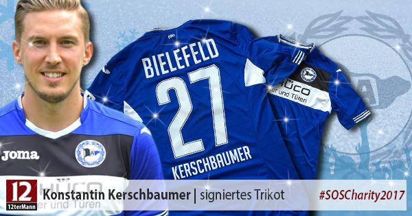 Signiertes Trikot vonKonstantin Kerschbaumer(Arminia Bielefeld)