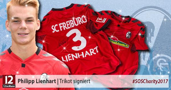 Signiertes Trikot vonPhilipp Lienhart (SC Freiburg)