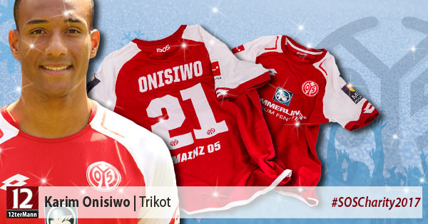 Signiertes Trikot vonKarim Onisiwo(1. FSV Mainz 05)