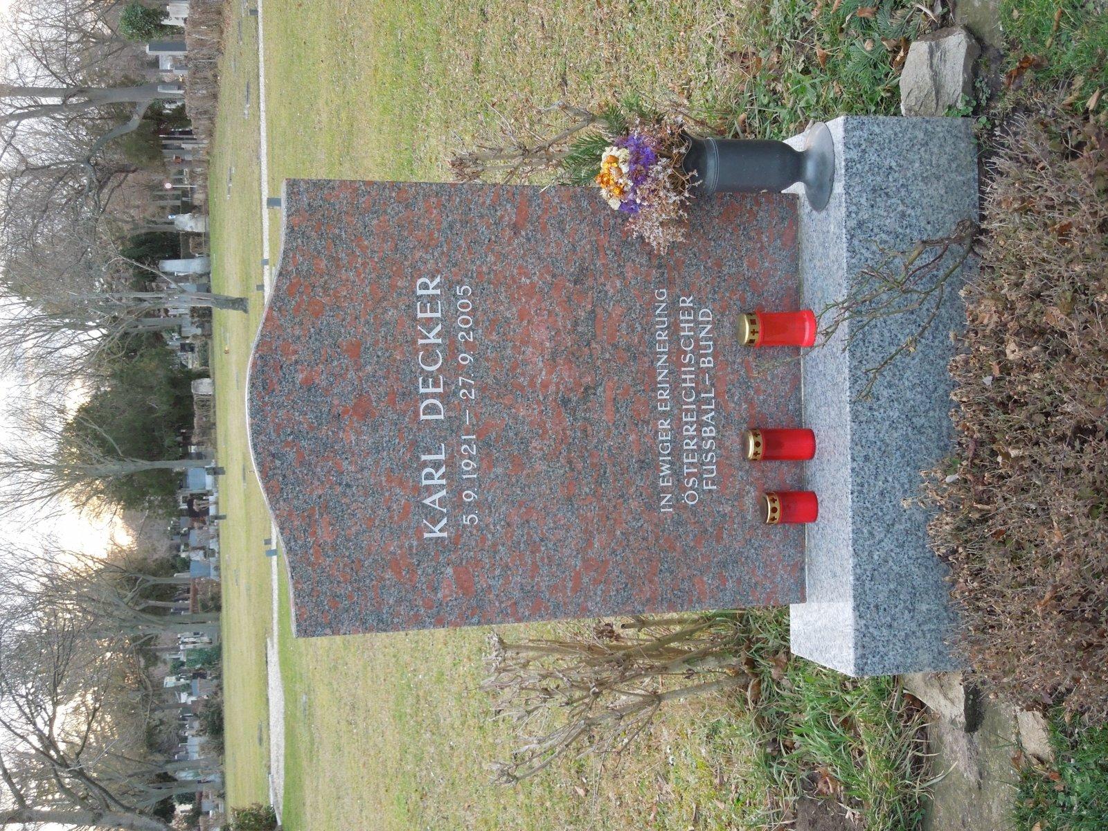 Karl decker - Ehrengrab Zentral FH
