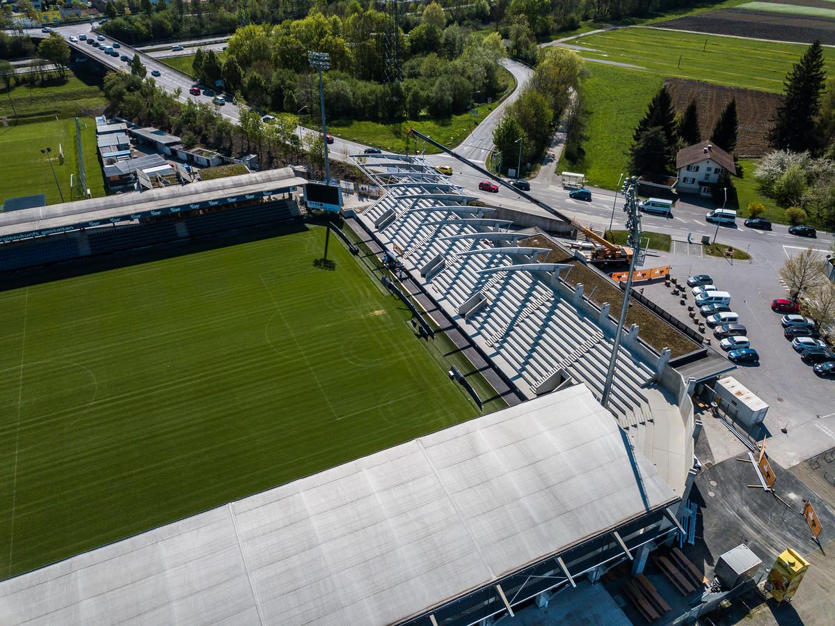 Stadion Schnabelholz Seite 133 Sc Rheindorf Altach